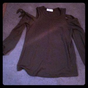 NWOT Cold Shoulder Sweater Size Large